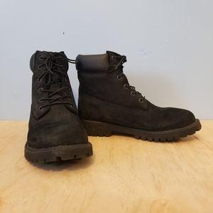 "Timberland Yth Black 6"" Classic Boot fits Wmn sz 8"